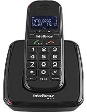 Telefone sem Fio Digital, Intelbras, TS 63 V, Preto