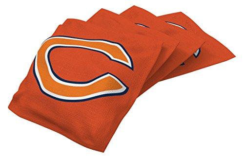 Wild Sports NFL Chicago Bears Orange Authentic Cornhole Bean Bag Set