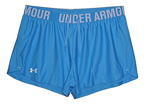 Under Armour Womens HeatGear Loose Fit Play Up Shorts Blue 481