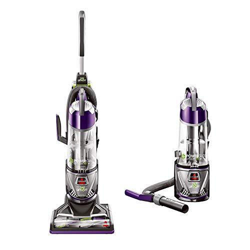 Bissell 20431 Powerglide Lift Off Pet Plus Upright Bagless Vacuum (Renewed)