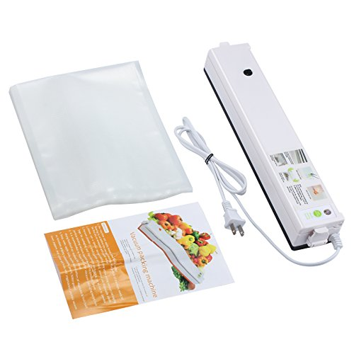 Proster Vacuum Sealer Machine Food Preservation Vacuum Sealing Packing Machine with 20Pcs Sealer Bags by Proster