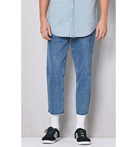 45fa059921ef2 lovely Pacsun Mens Slim 90S Medium Indigo Cropped Jeans - 3lacademie.nl