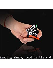 QIYI Fingertip gyro Cube 1x3x3 Puzzle Cube Magic Cube for Children Adults Color Black