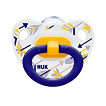 NUK Happy Days Stars Silicone Soothers Size 2 2pk - New design