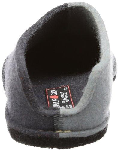 Haflinger Flai-Smily-Duo - Pantuflas de lana unisex gris - Grau (asphalt 58)