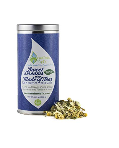 (~Sweet Dreams are Made of Teas~ For a Night of Deep ZZZ's! Loose Leaf Herbal Tea to Help You Have a Solid Night of Sleep, Wake Up Feeling Refreshed! ***Up to 60 Cups of Tea Inside***)