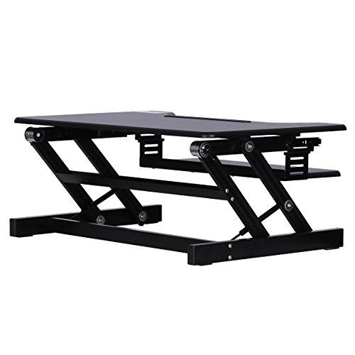 Standing Desk Devaise Height Adjustable Desk Converter