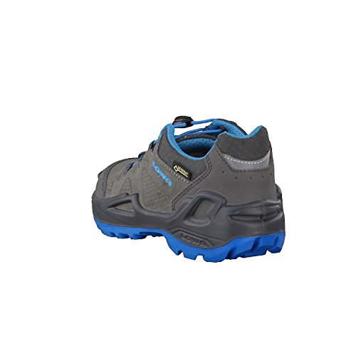 Turquoise Unisex High Boots Lo GTX Kids' Hiking Lowa Rise Diego Grey vdFBq