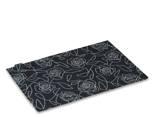 Fabric Bed of Roses Black Mess Mat, My Pet Supplies