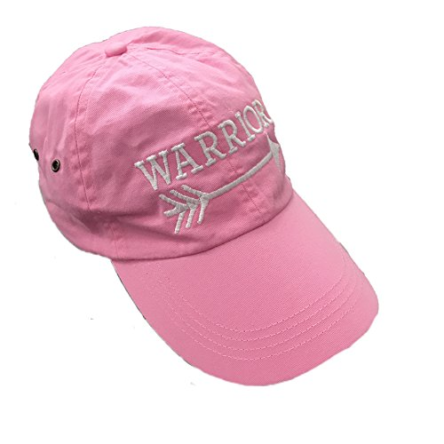 Warrior Baseball Hat (Pink) (Anvil Cotton Hat)
