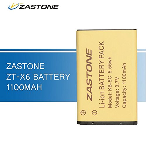 1pc 1100mAh Walkie Talkie Battery for Zastone X6 M...