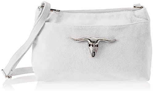 Chicca Borse 8650 - Bolso de hombro Mujer Blanco (White White)
