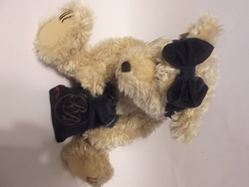 Beau Rivage Teddy Bear with Bag of Gold Covered Chocolate Coins -