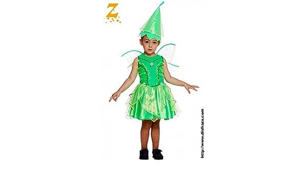 Disfraz de Campanilla (1-12 meses): Amazon.es: Juguetes y juegos