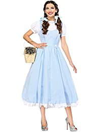 Deluxe Kansas Girl Plus Size Costume