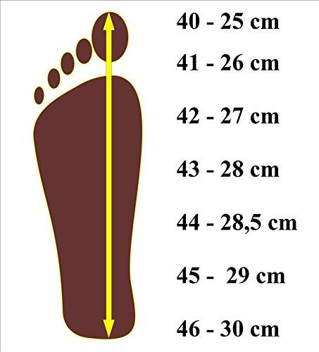 Nowbut Hausschuhe Herren Pantoffeln Natural 100% Leder Naturprodukt Offen Fester Sohle Komfort Bequeme Braun Weich Größe 41 42 43 44 45 46 (43, Bräun)