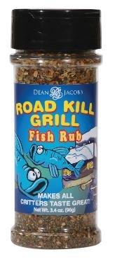 Dean Jacob's Road Kill Grill Fish Rub