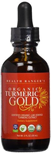 Health Ranger's Organic Turmeric Gold liquid extract 2 fl. oz.