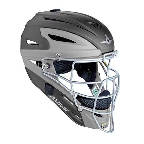 Image of Catcher Helmets All-Star Youth System 7 Matte Catcher's Helmet
