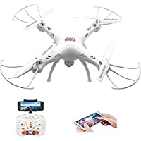 SUPER TOY Wi-Fi Camera Drone Professional Quadcopter with 2.4G Rc Helicopter Toy. Mini Pocket Drone WiFi FPV 2 MP HD Camera 2.4G 6-Axis RC