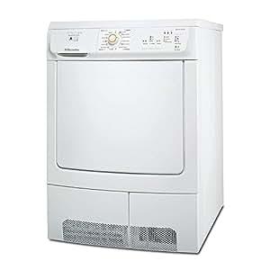 Electrolux EDC 68555 W Independiente 8kg Color blanco - Secadora (Independiente, Color blanco, 8 kg, 125 min, 4,48 kWh, 600 mm)