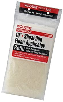 Wooster Brush RR612-10 Shearling Floor Applicator Refill 1//2-Inch Nap 10-Inch