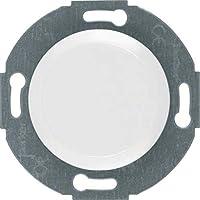 Hager 100920 interruptor de luz Blanco Metal