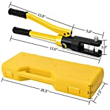Goplus 16 Ton Hydraulic Wire Crimper Battery Cable