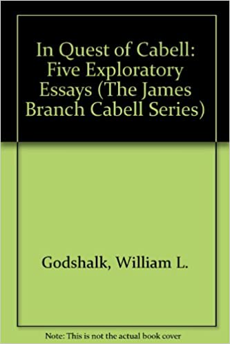 Essay Style Paper In Quest Of Cabell Five Exploratory Essays The James Branch Cabell  Series William L Godshalk  Amazoncom Books Cause And Effect Essay Thesis also Examples Of Thesis Statements For Narrative Essays In Quest Of Cabell Five Exploratory Essays The James Branch Cabell  Best Essay Topics For High School