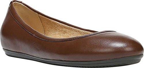 Zapato Cerrada 5 6 Talla De Bajo Bean Punta Naturalizer Coffee Mujeres Leather Metedera Piel CqEHfIw