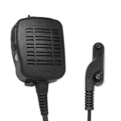 ARC S51054 Heavy Duty Anti-Magnetic Speaker Shoulder Microphone for Vertex Standard VX & P Series Two Way Radios by ARC