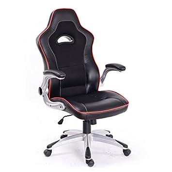 LE MANS Silla de oficina giratoria sillón escritorio estudio para jugar: Amazon.es: Hogar