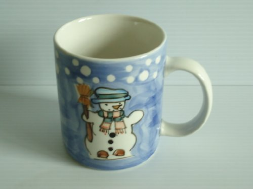 Tabletops Unlimited Let It Snow Snowman Winter Christmas Coffee -