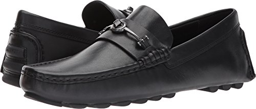 COACH  Men's Crosby Turnlock Driver Leather Black Shoe