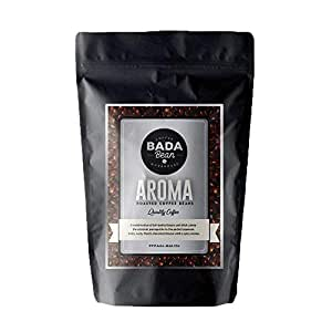 Bada Bean Coffee, Aroma, Roasted Beans. Fresh Roasted Daily. Award Winning Speciality Coffee Beans. 1000g (Ground for Filter)