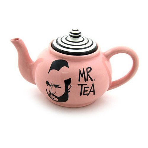 Lennymud Pink Mr T Teapot