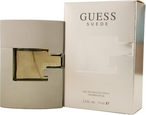 Guess Suede By Guess For Men Edt Spray 2.5 Oz
