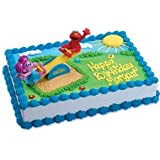 Bakery Crafts - Sesame Street Elmo and Abby Playground Cake Decorating Kit