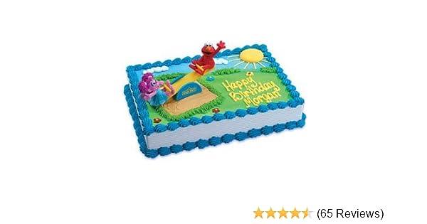 Sesame Street Elmo Icon Birthday Cake Candles