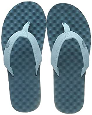 The North Face Women's Base Camp Mini Athletic & Outdoor Sandals, Canal Blue/Storm Blue, 5 US