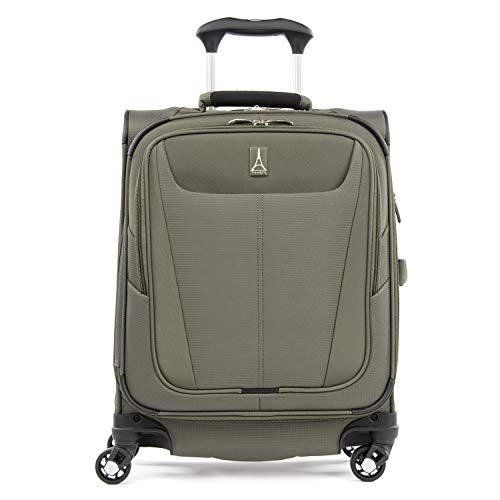 Travelpro Luggage International Carry-on, Slate Green (Best Large Suitcase For International Travel)