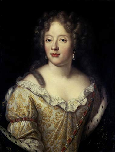 Pierre Mignard Portrait of a Lady 1671-30