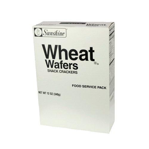 Kellogg's Sunshine Wheat Wafers, 12 Ounce (Pack of 12) Wheat Wafers