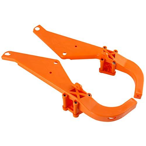 XMT-MOTO Strong Arm Inner Fairing Support Brackets fits for Harley Davidson Touring FLHX FLHT 1996-2013(Orange)