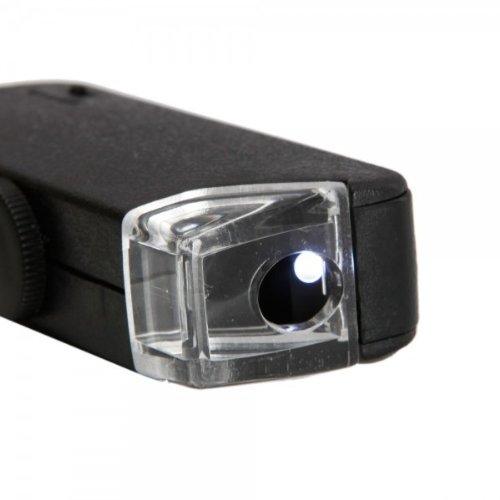 Fast Shipping + Free Tracking Number, Magnifier 60x - 100x Lens Micro Adjustable Magnifying Glass Loupe LED Light Illumination