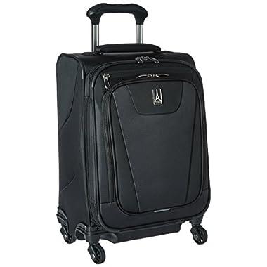 Travelpro Maxlite 4 International Carry-On Spinner Suitcase, Black