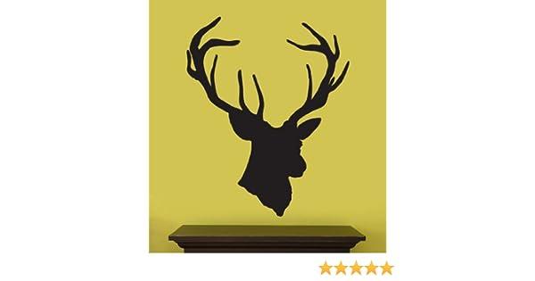 Contemporary White Deer Wall Decor Ensign - Wall Art Design ...