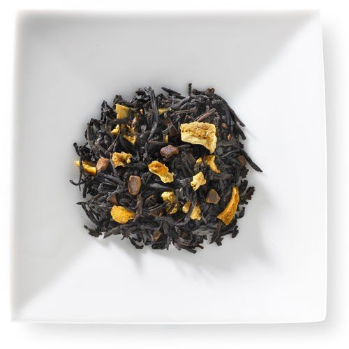 Cinnamon Orange Spice Tea Loose Leaf Black Tea with Cinnamon Pieces and Orange Peels - 1 Pound ()