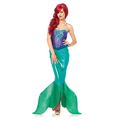 Womens Deep Sea Siren Mermaid Halloween Costume
