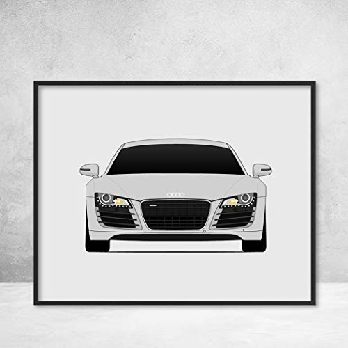 Audi R8 Type 42 First Generation Poster Print Wall for sale  Delivered anywhere in USA